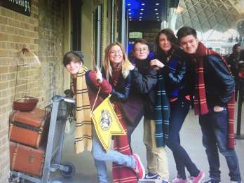 London: Harry Potter & Phantastische Tierwesen mit Gleis 9 ¾