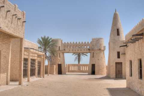 From Doha: Zekreet Film City and Desert Sculpture Tour