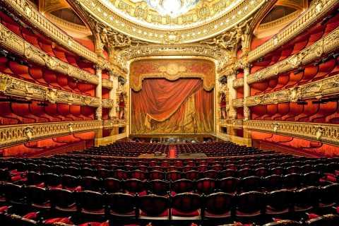 Zelfbegeleid bezoek aan de Opéra Garnier