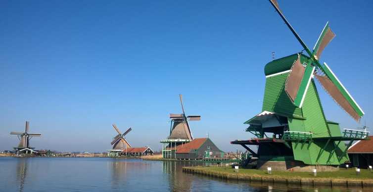 Desde Ámsterdam: 3h en Zaanse Schans en grupo reducido