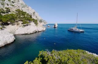 Ab Marseille: Calanques-Bootsfahrt und Mittagessen