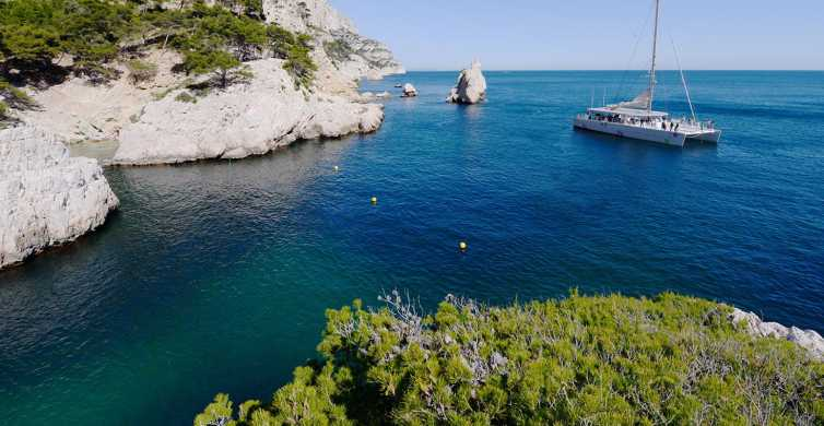 Catamaran Cruise & Lunch in the Calanques National Park