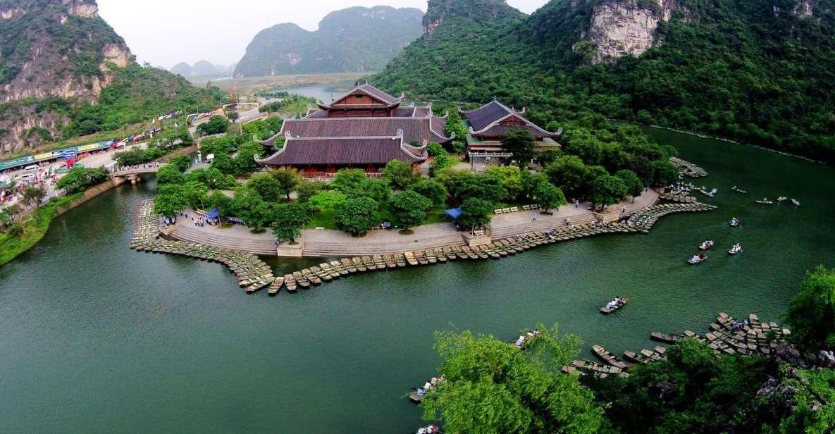 ハノイから:Trang An&Bai Dinh Pagoda 1日のプライベートツアー