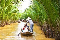 Tour Delta do Mekong c/ Templo Vinh Trang e Passeio de Barco