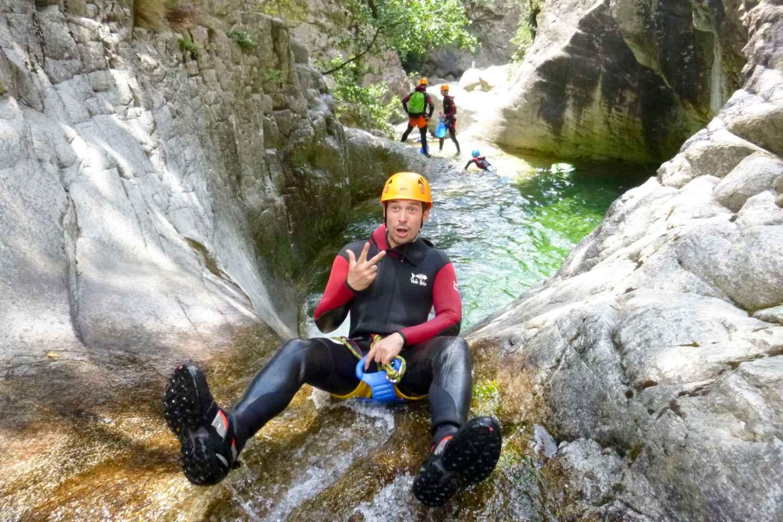 Korsika Canyoning Tour: Verghellu-Schlucht