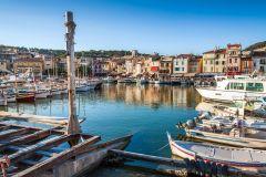 Cassis e Marselha: Excursão Panorâmica saindo de Marselha