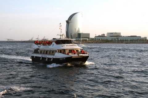 Barcelona: Bootstour mit Skyline und Stränden