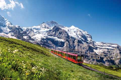 Ab Interlaken: Tagestour zum Jungfraujoch - Top of Europe