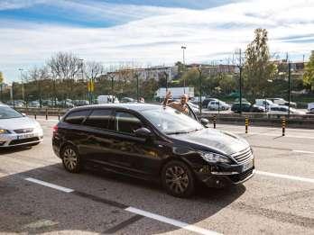 Lissabon: Privattransfer zwischen Stadtzentrum und Flughafen