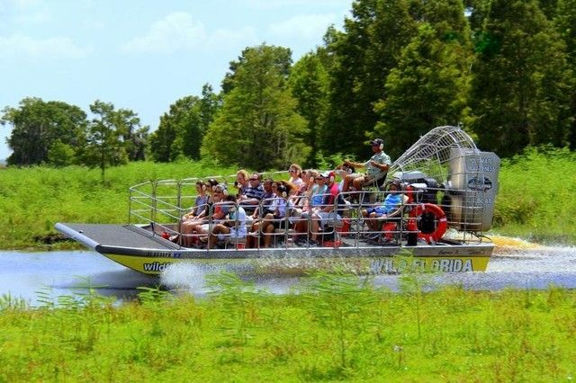 Orlando: Wild Florida Airboat Safari with Transportation