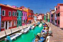Lagoa de Veneza: Excursão Murano, Burano e Torcello
