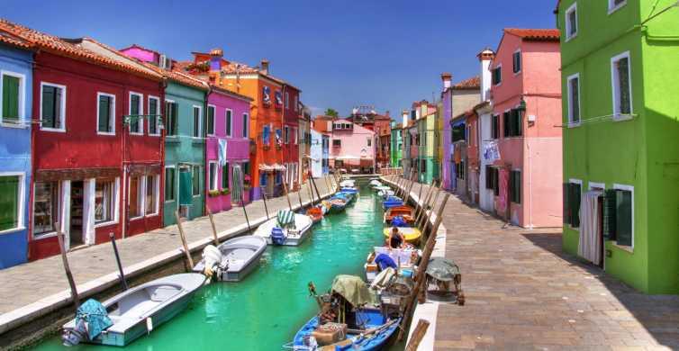 Tour de la laguna de Venecia: Murano, Burano y Torcello