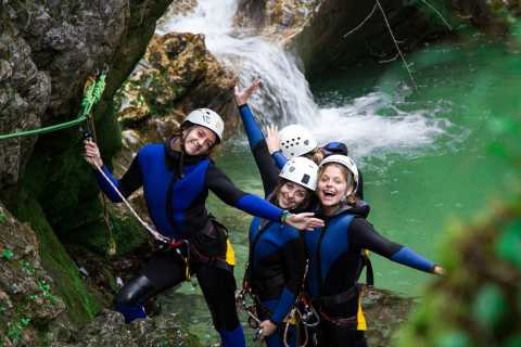 Lake Bled: Canyoning and Rafting