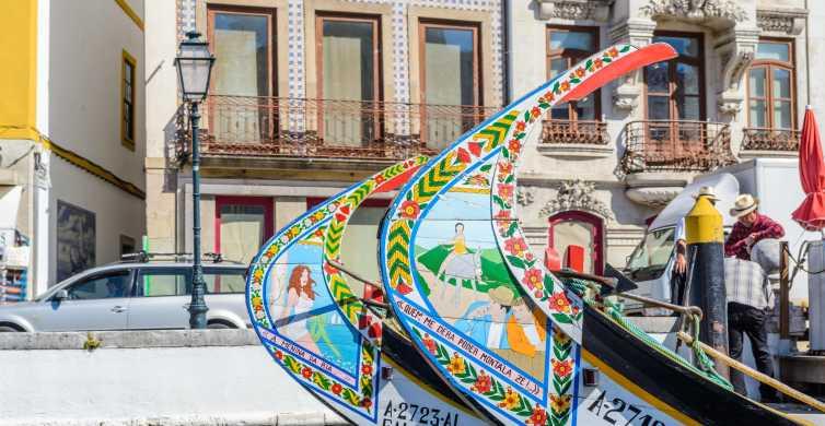 Aveiro: Half-Day Tour from Porto or Gaia with Cruise