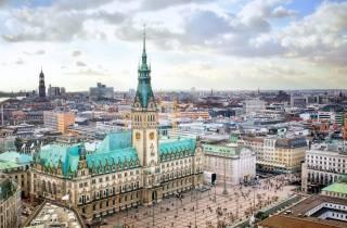 Hamburg: Stadtrundfahrt im Hop-On/Hop-Off-Bus