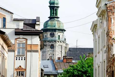 Lviv Small Group Tour by Intercity Train from Kiev