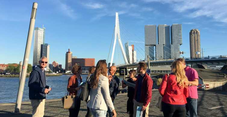 Rotterdam: grootse rondwandeling van 2 uur