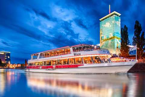 Vienna: Evening Cruise Along The Danube