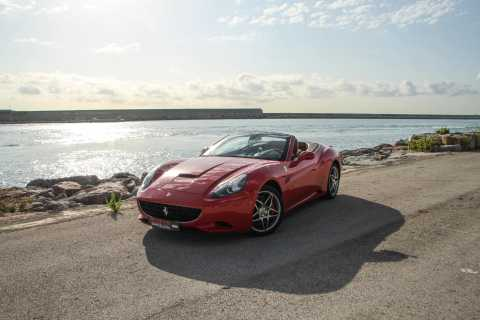 Ferrari Car Driving and Sailing Experience from Port Vell