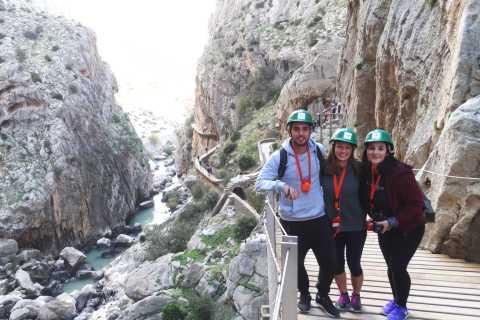 Desde Cádiz: tour de senderismo privado del Caminito del Rey