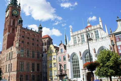 Gdansk: Individual Sightseeing Tour with Audio Guide