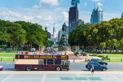Filadélfia: Bilhetes para Ônibus Hop-On Hop-Off