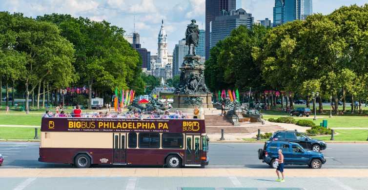 Philadelphia: Double-Decker Sightseeing Bus Tour