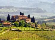 Ab Rom: Weine der Toskana mit San Gimignano und Siena