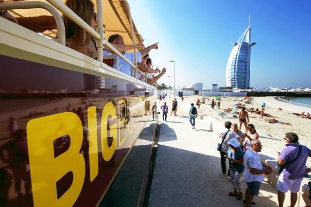 Dubai: deluxe ticket hop on, hop off-bus