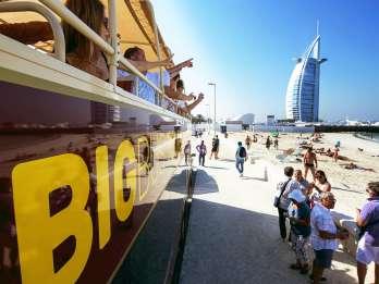 Dubai: Hop-On/Hop-Off-Bus-Ticket Deluxe