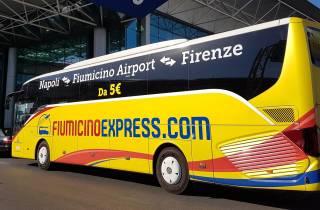 Flughafen Ciampino: Shuttlebus zum / vom Stadtzentrum von Neapel