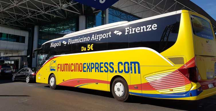 Ciampino Airport: Shuttle Bus to/from Naples City Center