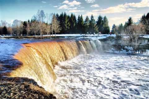 Jägala Waterfall and Harju County 5-Hour Tour from Tallinn