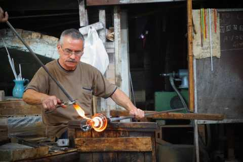 Murano Glass Factory Tour & Glass Blowing Demonstration