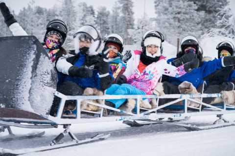 Rovaniemi: Santa's Sleigh Ride around the Arctic Circle