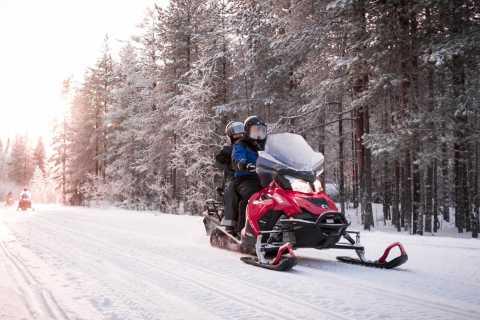 Rovaniemi: Snowmobile Safari into the Arctic Circle Forest