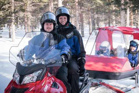 Rovaniemi: 3-Hour Family Snowmobile Safari