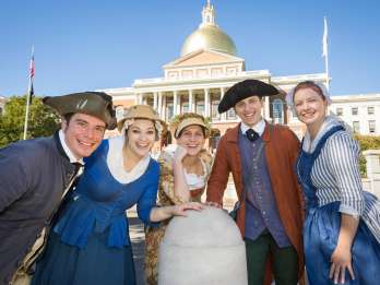 Rundgang entlang des Boston Freedom Trail Walk Into History®