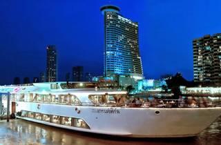 Bangkok: Dinner-Bootsfahrt auf dem Fluss Chao Phraya
