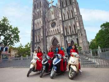 Hanoi: Stadtsehenswürdigkeiten und Literaturtempel Motorradtour