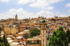 De Tel Aviv: Excursão Cidades Velha e Nova de Jerusalém