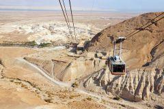 De Tel Aviv: Excursão 1 Dia Masada e Mar Morto c/ Traslado