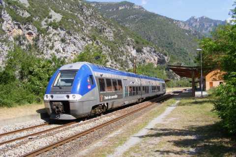 Niza: experiencia en tren por los Alpes y ruta barroca