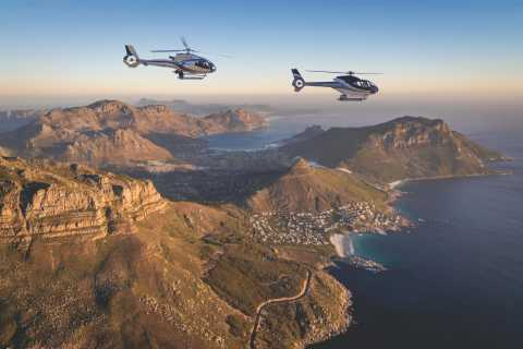 Fra Cape Town: Cape Peninsula Scenic Helikopter Flight