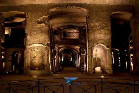 Bilet wstępu bez kolejki do katakumb San Gennaro
