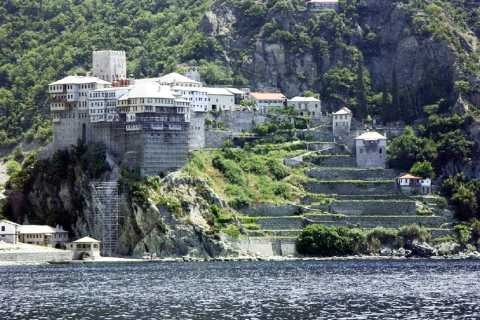 From Thessaloniki: Day Trip with Cruise around Mount Athos