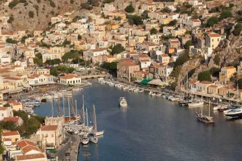 From Rhodes: Boat Trip to Symi Island with Hotel Transfer