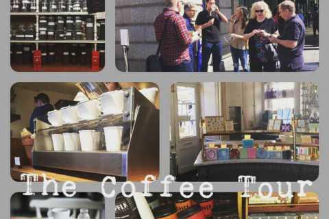 Londres: visite du café du matin
