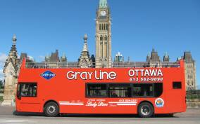 Ottawa: Hop-On Hop-Off Guided City Tour Day Ticket
