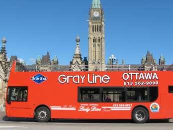 Ottawa: Tageskarte geführte Hop-On/Hop-Off-Stadttour